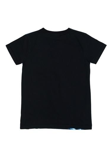Asymmetry Tişört Siyah